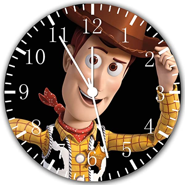 Toy Story Woody Frameless Borderless Wall Clock W81 Nice For Gift Or Room Wall Decor