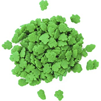 Dress My Cupcake DMC27286 Decorating Edible Cake and Cookie Confetti Sprinkles, St. Patrick's Day Shamrocks, 2.4-Ounce