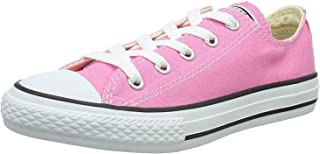 All Star Low Top Kids / Youth Shoes Ni?os / Chicas Sneakers (12.0 Ni?os, Low Pink / White)