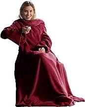 127 * 178 cm,Atrapasue/ños Fansu Manta con Mangas para Hombres Y Mujeres Largas De Vestir Caliente M/ás Gruesa Suave Microfibra Sof/á Bedding de Franela Aire Acondicionado de Oficina Mantas