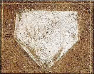 NYMB Baseball on The Wooden Bath Rug, Non-Slip Floor Entryways Outdoor Indoor Front Door Mat,60x40cm Bath Mat Bathroom Rugs