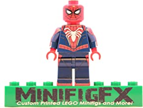 LEGO PS4 Spider-Man Advanced Suit Minifig Marvel Super Hero Spiderman