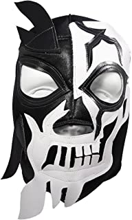 HALLOWEEN SKULL Lucha Libre Wrestling Mask (pro-fit) Costume Wear