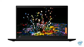 Lenovo ThinkPad X1 Carbon 6th Gen Core i7-8550U 8th Gen 8GB 256GB SSD UHD Graphics 620 Windows 10 Pro 14-Inch WQHD Laptop, Black, 20KH003HAU