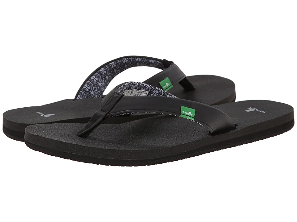 Sanuk Yoga Zen (Black) Women