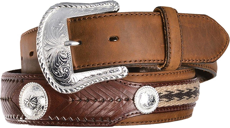 Tony Lama Men's Duke Leather Belt - 7239Lasst