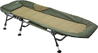 MK-Angelsport Fiskeskytt karpsäng relax upp till 150 kg lastkapacitet nattdröm sängstol solstol trädgårdsstol