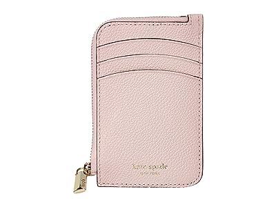 Kate Spade New York Margaux Zip Card Holder (Tutu Pink) Coin Purse
