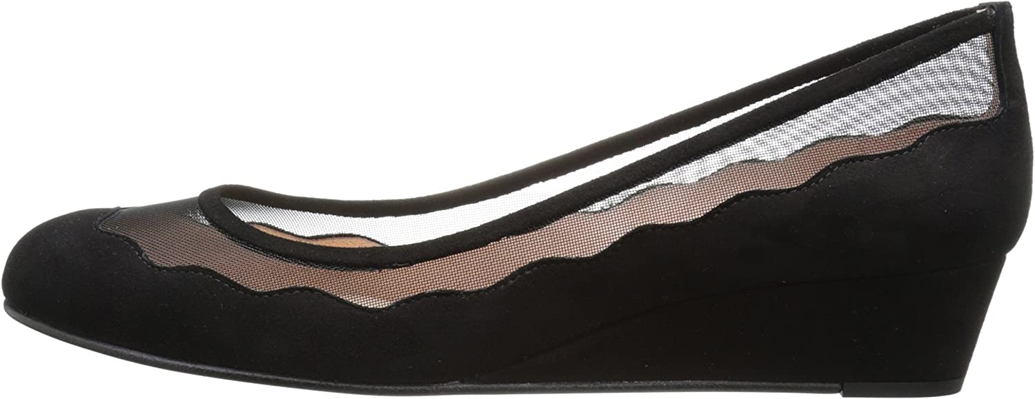 French Sole FS//NY Womens Obsess Wedge Pump