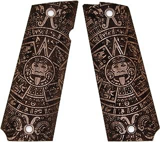 DURAGRIPS - Llama MAX1 MAX 1 C/F L/F Custom Wood Grips Mayan - Aztec Calendar