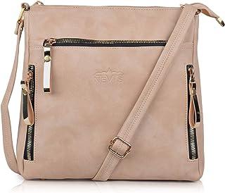 NEVIS Women PU Synthetic Leather Stylish Hobo Crossbody/Travel College Slingbag