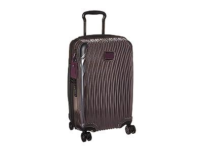 Tumi Latitude International Carry-On (Purple) Carry on Luggage