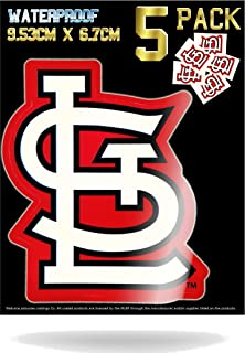 st louis cardinals helmet stickers