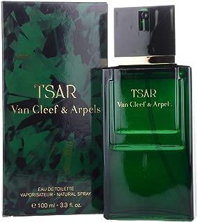 Tsar By Van Cleef & Arpels For Men. Eau De Toilette Spray 3.3 Ounces