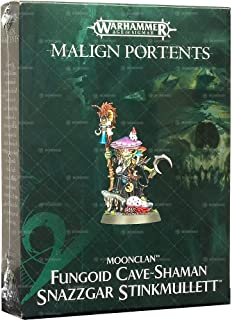 Games Workshop Warhammer Age of Sigmar: Fungoid Cave-Shaman Snazzgar Stinkmullett Malign Portents