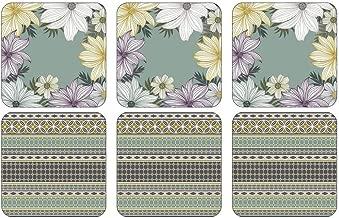 Pimpernel Coasters Multi Coloured 10 5cm