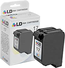 LD Remanufactured Ink Cartridge Replacement for HP 17 C6625AN (Color)