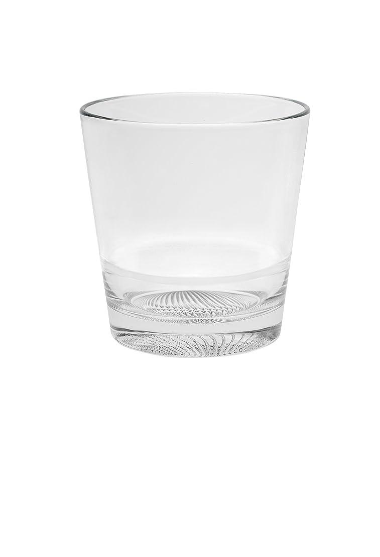 仕事プライバシー指定するBarski European Glass - Double Old Fashioned Tumbler Glasses - Uniquely Designed - Design on The Base - Stackable - Won't Get Stuck - Set of 6 - 400ml - Made in Europe