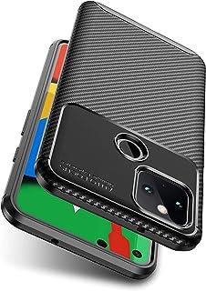 Google Pixel5 ケース Goevce カバー TPU保護 ソフト シリコンケース 超薄型 超軽量 柔らかい手触り google pixel 5 専用 (ブラック)