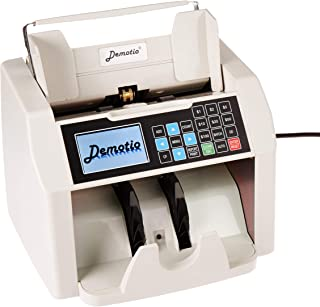 Demotio True B2C USD Bill Money Counter MA-160C with Full Counterfeit Detection and Receipt Printing Function (Working with Our Optional Printer)