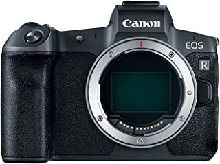 Canon EOS R Digital Camera Body With Mount Adapter EF-EOS R , 30.3 Mirrorless Camera, Black