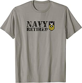 USN Command Master Chief Petty Officer (CMC) Retired Shirt