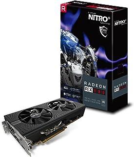 SAPPHIRE NITRO+ RADEON RX 580 8G GDDR5 OC グラフィックスボード VD6318 SA-RX580-8GD5N+001