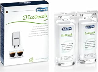 De'Longhi Ecodecalk Mini Descalcificador universal,  cafeteras superautomáticas, pack x2, 100 ml, componentes naturales, compatible modelos ETAM / ECAM