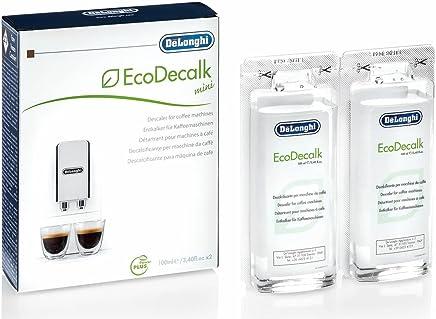 DeLonghi Ecodecalk Mini, Coffee Machine Descaler, 2 Pack x 100 ml, DLSC200