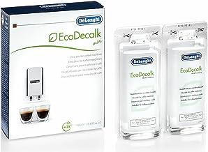 Delonghi EcoDecalk Mini 2 x 100ml Descaler (Pack of 1)-White