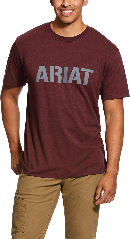 ARIAT Men's Rebar Cotton Strong Block T-Shirt