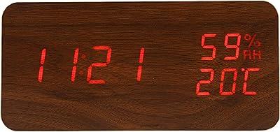 FiBiSonic Reloj Despertador Digital LED con Indicación de ...