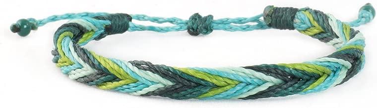 Irish Hillside Surfer Bracelet for Women and Men Beach Surf Yoga Hippie Boho Chic Jewelry Slip Knot