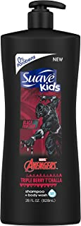 Suave Kids Black Panther 2In1 Shampoo & Body Wash 28 Oz, 28 Ounce