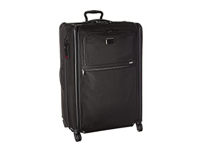 Tumi Alpha 3 Extended Trip Expandable 4 Wheeled Packing Case (Black) Luggage