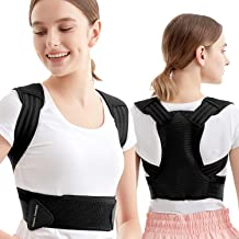 IIZ Posture Corrector for Women Men - X Structure Design Upper Back Brace for Clavicle Support, Providing Pain Relief, Wai...