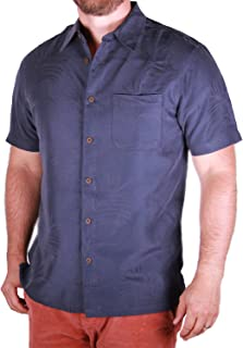 Retro Lounge Men's Short Sleeve Button-Down Shirt