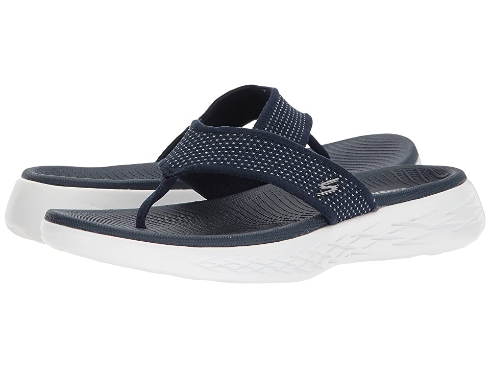 486bd05dcc5 SKECHERS Performance On-The-Go 600 15300 (Navy White) Women s Sandals