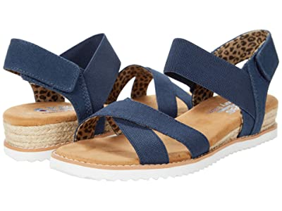 BOBS from SKECHERS Desert Kiss Secret Picnic (Navy) Women