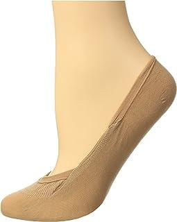 FALKE Füßlinge Cotton Step Invisible Baumwolle Damen schwarz weiß viele weitere Farben Füßlinge unsichtbar ohne Motiv atmungsaktiv Low Cut 1 Paar