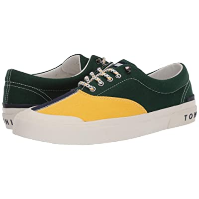 Tommy Hilfiger Thflag (Green/Yellow) Men