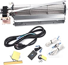BBQ-Element BLOT BLOTMC Replacement Fireplace Blower Fan Kit for Majestic, Monessen, Martin Hearth and Heating, Vermont Castings Fireplaces, Rotom HB-RB94, HB-RB79, R7-RB79