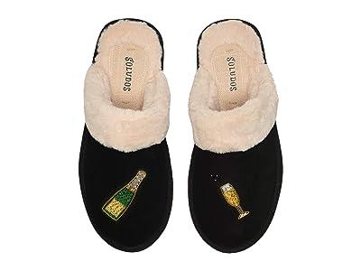 Soludos Cheers Cozy Slipper (Black) Women