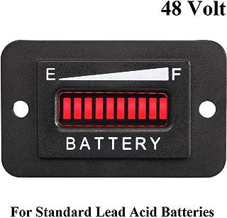 Neoikos 48V Volt LED Battery Indicator Meter Gauge Golf Cart