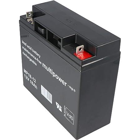 Vision Cp12170 12v 17ah Agm Blei Akku Batterie Vds Elektronik
