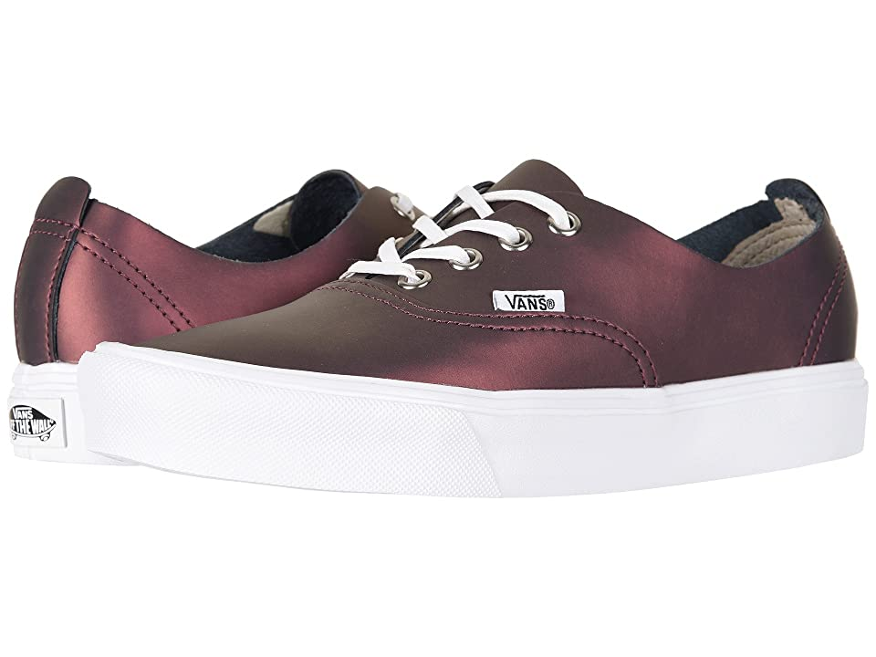Vans Authentic Decon Lite ((Muted Metallic) Red/Gold) Skate Shoes