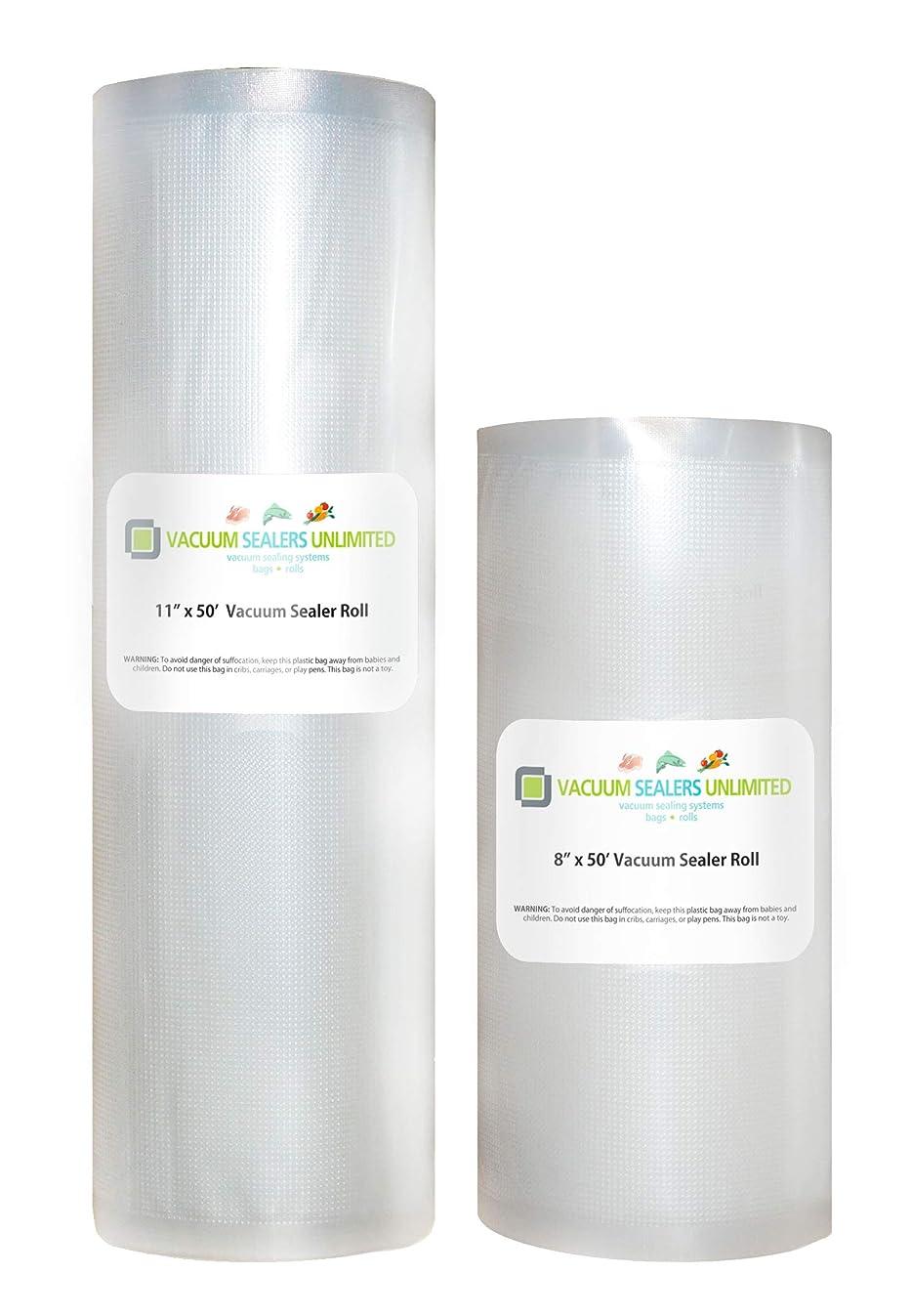 Vacuum Sealers Unlimited - Two 50 Foot Rolls (1-8