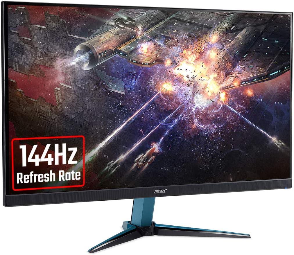 , 2ms, HDR 10, DP, HDMI, Black Acer Nitro VG240YSbmiipx 23.8 inch FHD Gaming Monitor OC IPS Panel, FreeSync, 165Hz