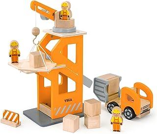 Viga Toys - 51616 - Crane Lift with Dumper