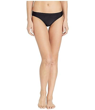 Nike Solid Bikini Bottom (Black) Women